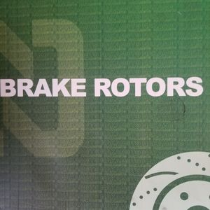 Rotors & Brakes with clips